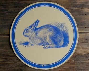 Bunny Wall Hanging - Vintage!