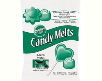 "Candy Melts® Colorburst ""Dark green"" 340 g WILTON"