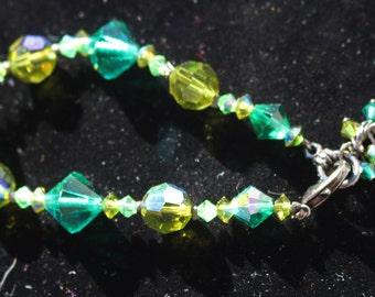 Dabby ried / Swarovski Crystal Bracelet