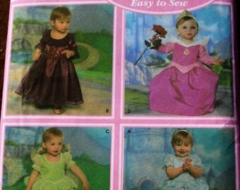 Simplicity 4949/ Disney Princess Costumes/ Uncut/ Childs