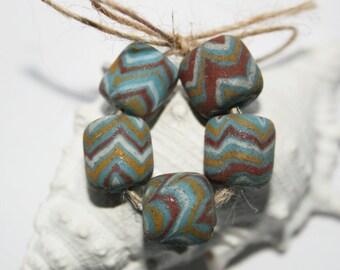 Java beads, night flowers, ethnic jewelry, unique beads, handmade, vintage beads