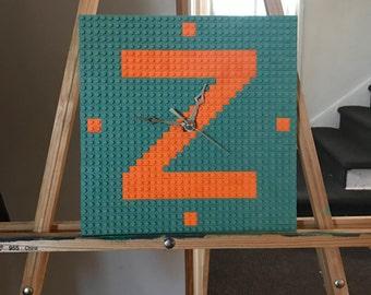 Lego clock customized
