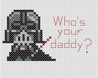 Darth Vader (Cross Stitch)