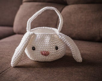 Bunny Basket Easter (eggs not included) Amigurumi