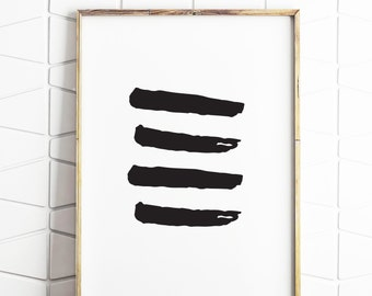 brush strokes wall printable, brush strokes wall decor, brusth wall art, paint strokes art, paint strokes printable art