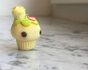 Apple Banana Cupcake