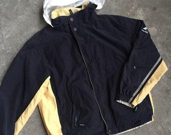 Vintage 90s Nautica reversiable reflex jacket