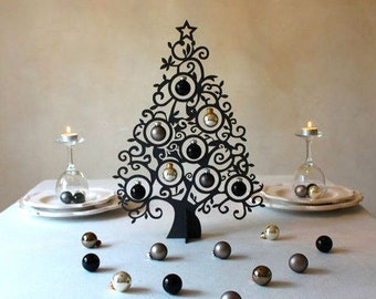 Christmas Tree instant download / Fir-tree / Wooden Wood Plywood Xmas / Table Decoration / Various Sizes
