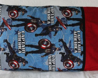 Captain America pillowcase