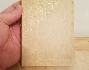 Late 1800s Edgar Allan Poe's Poems Small Decorative including The Raven