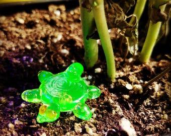 Turtle pendant.