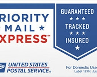 USPS Express Shipping 1 - 2 Day