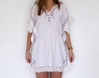 Beach dress, Tunic, cotton