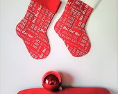 Christmas Stocking - Small