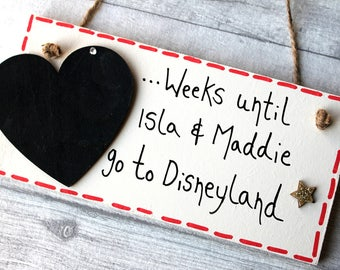 Vacation Planner - Summer Holiday - Disneyland - holiday fund - Holiday Mode - Holiday Countdown - Family holiday planner