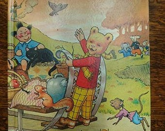 Vintage 1978 First Edition Rupert The Bear The Daily Express Annual BoutiqueByDanielle