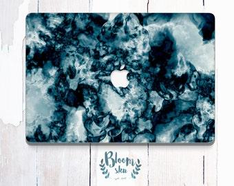Marble Laptop skin Laptop decal Laptop sticker Colorful laptop cover decal Blue Laptop vinyl BS030