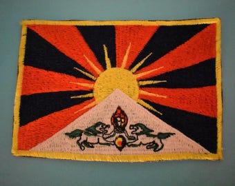 Big Tibetan Flag Patch