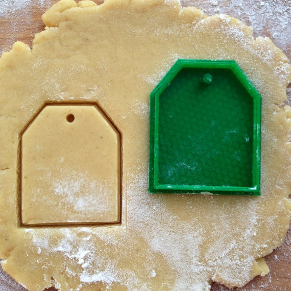tea bag cookie cutter tag cookie st