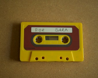 "For Sara -""Over The Garden Wall"" Cassette - Poems- art piece"
