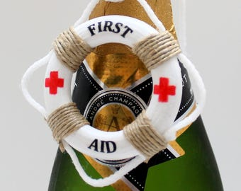 First Aid, Life Boat Preserver,Water Sports,CPR,Rescue,Lifeguard,Marines,Funny Signs,Bottle Tag,Funny Sayings,Coast Guard,First Aid Kit,Sign