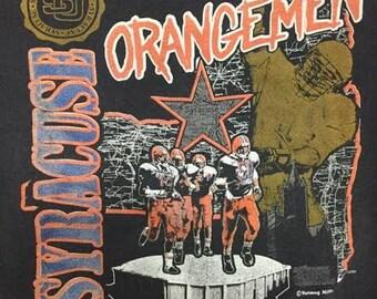 Vintage Syracuse University Football Crew