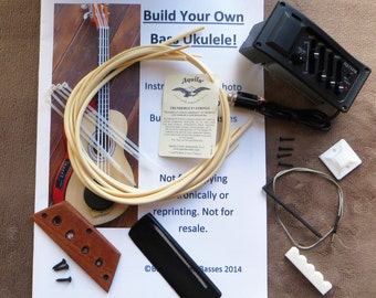 Build Your Own Bass Uke PLUS Kit