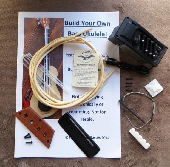 build your own bass uke plus kit. Black Bedroom Furniture Sets. Home Design Ideas