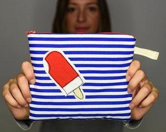 ice cream zipper pouch