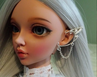 1/3 bjd doll earcuff earring left ear