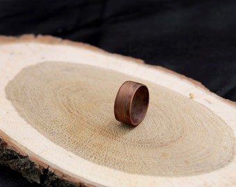 Wood ring, walnut wood ring, wood rings, wooden rings, wood ring women, wood ring for men, bentwood ring, wood ring men, bentwood ring, ring