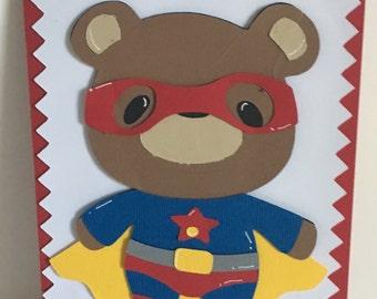 Superboy Birthday Card