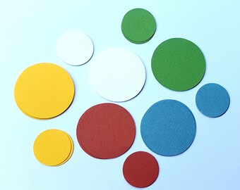 Harvest Paper Circle Punch Disc Pack