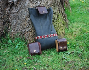 Bushcraft Foraging Belt Bag