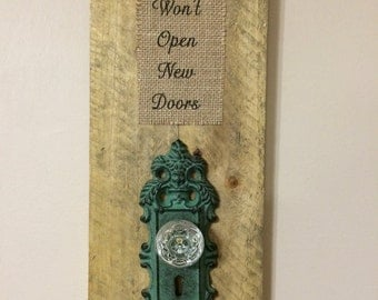 Door Knob Wall Hanging