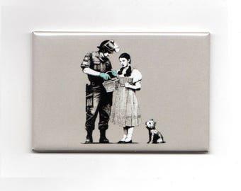 Banksy - Wizard of Oz Magnet