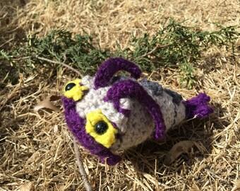 Wimpod plushie plush pokemon sun and moon pokemongo alolan alola stuffed animal toy chibi amigurumi crochet