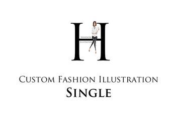 Custom Fashion Illustration - Single Figure