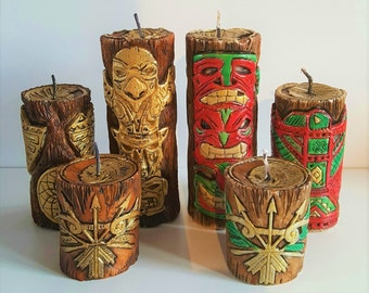 Native American Candle Set