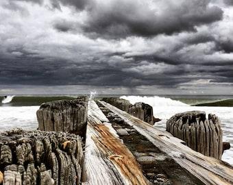 Beach Photo~Moody Skies