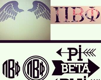 Pi Beta Phi vinyl
