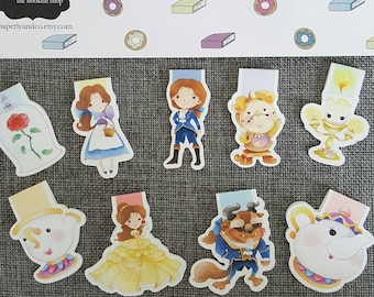Enchanted Household Magnetic Bookmark Set