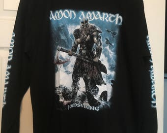 Amon Amarth Joms Viking long sleeve mens t Shirt