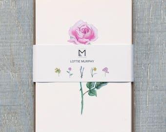 Greetings Cards- Flowers- Pack of 5