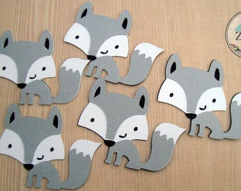 Cute Wolves Scrapbook - Embellishments