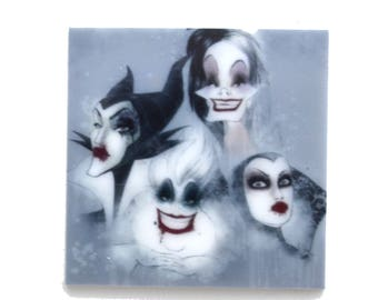 Movie Evil Queens Witch Woman Toppers Planar Resin Cabochon Embellishments