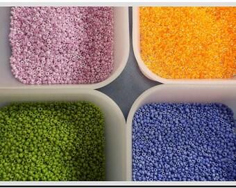 glass beads glass beads 2 600 mm seed beads toho seed beads 11 0 5 colors