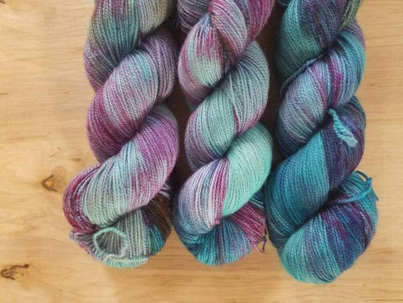 Mermadia- Eighty Twenty - Superwash Merino Nylon - 400 yards