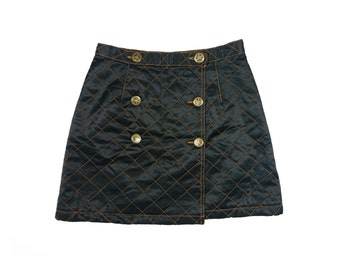 Vintage Moschino quilted skirt
