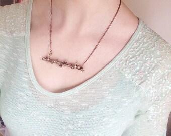 Natural Twig Pendant
